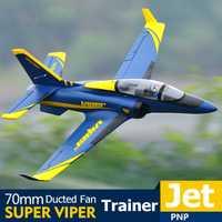 FMS RC Avion 70mm Super Viper conduit ventilateur EDF Jet formateur 6S 6CH avec rétracte volets PNP oeb modèle passe-temps Avion Avion Avion
