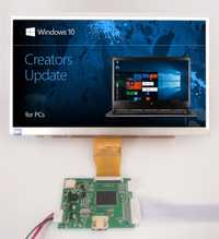 10,1 pulgadas 1024*600 pantalla TFT LCD Monitor con Control remoto controlador de la Junta de Control de HDMI para naranja Raspberry Pi 3