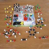 1 Conjunto grande modelo de la estructura molecular para maestros Química orgánicos e inorgánicos estructura dls-23534 envío libre