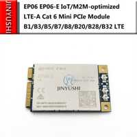 JINYUSHI pour EP06 EP06-E IoT/M2M-optimized LTE-A Cat 6 Mini Module PCIe B1/B3/B5/B7/B8/B20/B28/B32 LTE support Openwrt