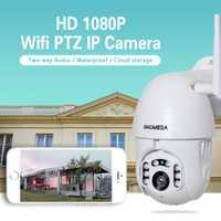 INQMEGA 1080 P Wifi cámara IP inalámbrico Auto TrackingPTZ velocidad Domo CCTV IR Onvif cámara exterior seguridad vigilancia H.264 IR 50