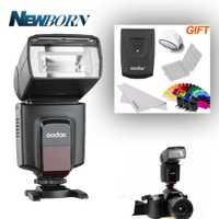 GODOX TT520II GN33 Speedlite Flash + transmisor para Canon EOS 1300D 800D 750D 760D 700D 650D 100D 80D 77D 60Da 5Ds Flash