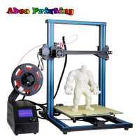3D kit de impresora A10S escritorio 3D impresora mitad montado Kit boquilla de 0,4mm 300*300*400mm de impresión tamaño