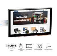 5 pulgadas 800x480 Raspberry Pi TFT pantalla táctil DSI conector LCD de pantalla Raspberry Ubuntu. kali RetroPie sistema