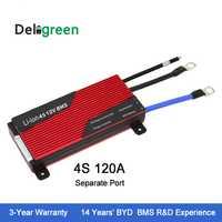 12 V 4S circuito protectora 120A 150A 200A BMS para 18650 Pack nominal 3,2 V lifepo4 batería