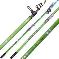 6 H De Surf De Rod 3,6 m 3,9 M 4,2 M 4,5 m 5,4 M telescópico De Surf De Canna equipo De pesca cañas De Pescar pesca varillas