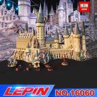 Educativos 16060 16001 Harry película Potter la serie 71043 Hogwarts Castillo bloques de construcción ladrillos juguetes de los niños de la casa, regalo de Navidad