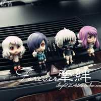 Perfume del coche Q estilo cartoon Tokio Ghoul muñeca estilo fresco outlet ambientador 4 unids/lote