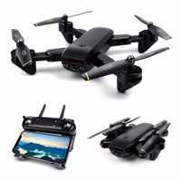Global Drone Drones con cámara HD FPV Control remoto Selfie quadcopter flujo óptico posición Hover RC Dron VS X12 E58 d107