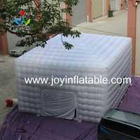 Tent 210D Oxford gigante inflable cubo tienda en Color blanco y negro