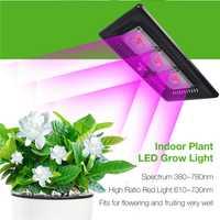COB Led Luz de espectro completo Ultra-delgada impermeable IP67 flores lámpara para verduras y Bloom de interior al aire libre planta