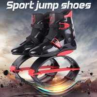 Zapatillas de deporte para adultos, botas para saltar, zapatos para saltar de canguro, zapatos deportivos para saltar, talla 19/20