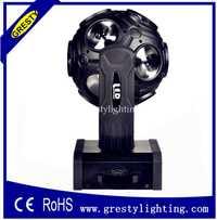 El más nuevo 12x20 W rgbw led beam fútbol luz de cabeza móvil/led dj Bola de discoteca luz/Barra de escenario móvil sin límites
