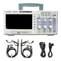 Hantek DSO5202P Osciloscopio Digital de 200 MHz de ancho de banda de canales 2 canales PC USB LCD portátil Osciloscopio portátil herramientas eléctricas