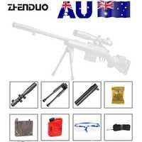 ZhenDuo juguetes Mag-Fed GJM24 Gel pelota Blaster pistola de juguete para niños al aire libre niños regalos
