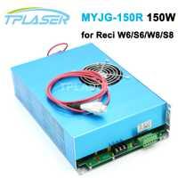 150 W CO2 láser fuente de alimentación para Reci Co2 tubo láser S6/S8