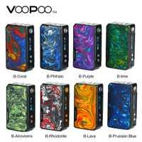 Original 117 W VOOPOO Drag Mini Mod 4400 mah batería E cigarrillo 510 rosca vaporizador caja de cigarrillo electrónico Mod del Drag 2