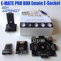 Allsocket EMMC 6in1 adaptador herramienta de BGA153/169/221/162/186/529 para eMMC Pro caja eMMC de caja fácil Jtag caja