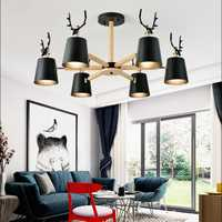 Nordique moderne minimaliste bois abat-jour lustre E27 led éclairage en bois massif pour cuisine salon chambre étude hôtel