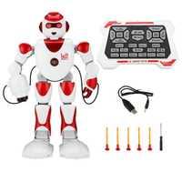 RC Robot inteligente alfa programación humanoide RC juguetes Robot K2 Demo cantando Robot chico Robots de juguete