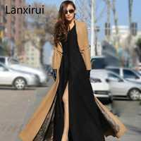 Plus tamaño S-2XL nueva moda mujer en abrigo de las mujeres de invierno abrigo con cremallera Separable chaqueta Manteau