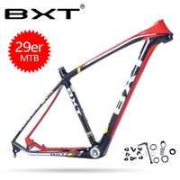 BXT 2018 nuevos productos de carbono barato mtb Marco de bicicleta de la bici de Marcos tamaño 15,5-20,5 pulgadas de carbono chino marcos de cuadro carbone ruta