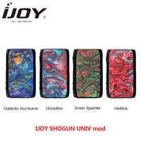 100% Original ijoy SHOGUN UNIV 180w caja mod para KATANA SUBOHM tanque del arrastre 2 Actualización del Firmware de Vape E cigarrillo mod