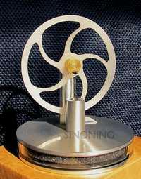 Magnetrón baja temperatura del motor Stirling modelo precisión física enseñanza café té adornos regalos de la novedad