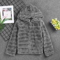 FANALA abrigo de piel de abrigo con capucha abrigo mujer suaves abrigos con capucha mujer abrigo chaqueta de piel falsa capa 2018