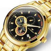 Relojes de cuarzo para hombre Vintage ganador Parnis automático militar Megir reloj de pulsera deportivo cronógrafo reloj de hombre