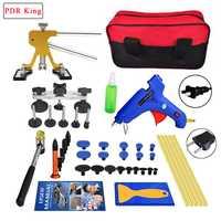 Hail dent herramientas PDR herramientas Paintless Dent Removal Kit de reparación del coche la eliminación de abolladuras Auto herramientas Puller Dent Lifter Pulling puente