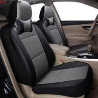 2 pièces housse de siège de voiture pour ford focus 2 3 s-max fiesta kuga ranger accessoires mondeo mk3fusion housses pour sièges de véhicule