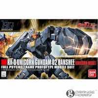 OHS Bandai HGUC 135 1/144 RX-0 Gundam Unicorn O2 Banshee unicornio modo móvil juego ensamblaje Kits modelo
