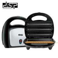 DSP máquina de barbacoa para fiesta de salchichas, máquina para perros calientes, máquina de salchichas a la parrilla, máquina de desayuno de 750W 220-240V