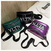 Las mujeres Vintage bolso bolsas para las mujeres, bolsos de cuero Hip Pop bolsas Funny paquete carta bolsos de hombro