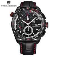 De moda de cronógrafo relojes deportivos para Hombre marca de lujo de cuarzo militar Reloj Hombre 2017 Reloj Hombre Reloj Masculino