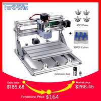 CNC 3018 withER11 bricolage mini CNC Machine de gravure Laser gravure Pcb PVC fraiseuse bois routeur CNC 3018 meilleurs outils avancés