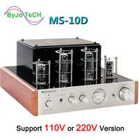 Nobsound MS-10D tubo amplificador de potencia de Audio amplificador 25 W * 2 de amplificadores de apoyo 110 V o 220 V Hifi amplificador MS 10D