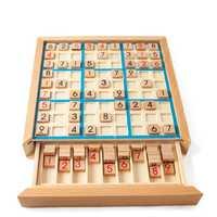 De Madera juegos Sudoku lógica adulta pensando en nueve Palacio Sudoku de ajedrez niños juegos de educación temprana inteligente juegos de mesa Juguetes