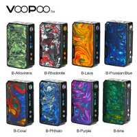 100% Original 117 W VOOPOO arrastrar Mini MOD con batería de 4400 mAh y innovar GENE ajuste Chip E-cigarrillo Vape caja Mod del Drag 2 Vaping