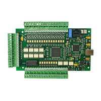 Nuevo controlador CNC Placa de controlador CNC MACH3 USB movimiento Tarjeta 3 eje de 4 ejes