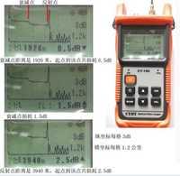 De fibra óptica Ranger MINI OTDR CY190S CY-190S de OTDR 60 km de fibra de encontrar culpa de 1310/1550nm + 1 MW VFL