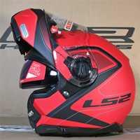 LS2 FF325 estroboscópica Flip Up de la motocicleta del casco de la carretera Modular CIVIK zona Cascos Capacete Cascos Moto yelmos aviarios