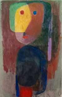Aceite de alta calidad pintura lienzo reproducciones noche muestra (1935) por Paul Klee pintura pintado a mano