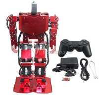17DOF Robo-alma H3.0 bípedo robótica Robot humanoide de marco de aluminio completo Kit w/17 unids Servo + controlador +