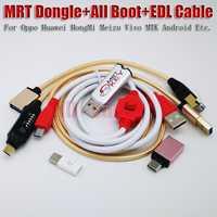 2019 nouvelle version MRT Dongle 2 clés + XiaoMi9008 BL câble de déverrouillage + UMF tous les câbles de démarrage meilleure configuration