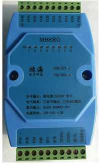 ¡Envío GRATUITO! Entrada Digital y el módulo de salida 8-canal de salida de relé aislado 8RO RS485 módulo de comunicación MODBUS de sensor