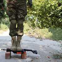 Kriss de V2 de Gel de agua blaster pistola electrónica de Nylon Material de juguetes para los niños