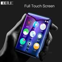 BENJIE X6 pantalla táctil completa MP3 Player 4 GB 8 GB reproductor de música con Radio FM y reproductor de vídeo e-book jugador MP3 Con altavoz incorporado