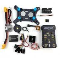 Pixhawk PX4 piloto automático PIX 2.4.8 controlador de vuelo de 32 bits con interruptor de seguridad zumbador 4GB tarjeta PPM I2C RGB módulo para F450 Quadcopter